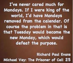 Mondays, a Michael Vey explanation⚡️