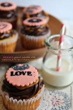 Orange Yogurt Cupcake to make for cindy