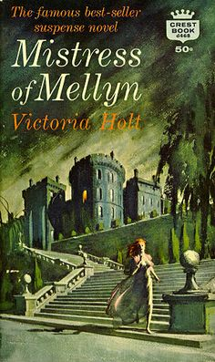 My first Gothic novel. I bought a paperback copy in junior high and fell in love with Gothic mysteries!