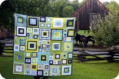 Jonquils & Ladybugs: A super cool quilt!