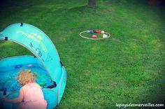 Bataille d'eau ballon gonflable