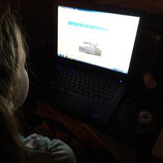 "via @tara4you ""Samantha learning how to program Java...Making Minecraft Mods!  I figure if she's going to be a gamer... She's going to learn how to program behind the…"""
