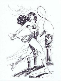 Wonder Woman by Steve Rude