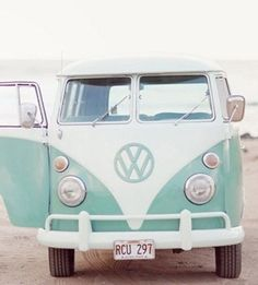 A VW Van | 37 Ways To Treat Yourself With Tiffany Blue