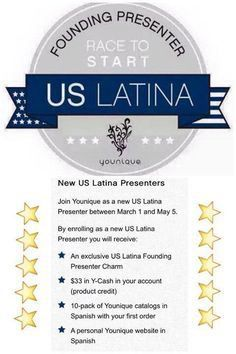 "Hey makeup-loving ladies! I am actively seeking some Spanish-speaking ladies to join my growing Younique team. You may have heard, but Younique will be expanding into Mexico as a new market THIS YEAR! Leading up to this launch, we are doing a ""Race to Start"" challenge for all US Latina ladies. Click the link to learn more!"