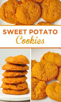 Sweet Potato Cookies is part of Sweet potato cookies - Yields 6 servings Serving Size 1 cookie Calories 188 Total Fat Saturated Fat Trans Fat Cholesterol Sodium Carbohydrates Fiber Sugar Protein SmartPoints (Freestyle) 6 Baby Food Recipes, Baking Recipes, Whole Food Recipes, Dessert Recipes, Sweet Potato Cookies, Sweet Potato Muffins, Sweet Potato Dessert, Sweet Potato Brownies, Paleo Sweet Potato
