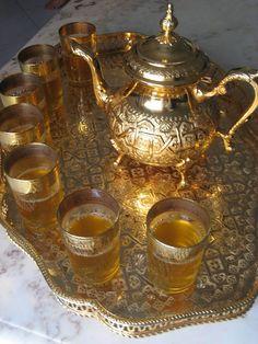Dinners & Dreams » Moroccan Mint Tea
