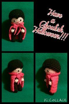 Crochet Amigurumi Count Dracula the Vampire from Gourmet Crochet's Monster Mash