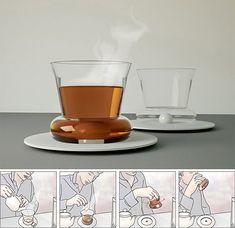 Olvídate de la cucharilla para remover tu café