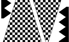 Free Checkered Flag Printables & More   upper sturt general store
