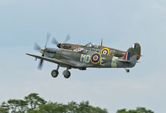 Supermarine Spitfires - 2, via Flickr. #military aviation
