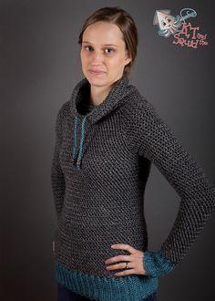 My Favorite Crochet Pullover By Katy Petersen - Purchased Crochet Pattern - (ravelry)