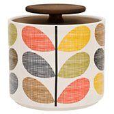 Buy Orla Kiely Multi Stem Kitchen Storage Container, 1L | John Lewis