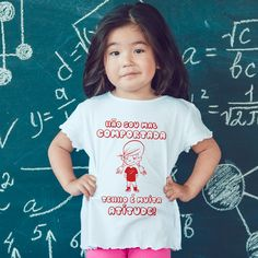 A tua filha também tem muita atitude? 😜 #zizimut #funnytshirts #tshirts #hoodies #sweatshirt #giftshops #personalizedgifts #personalizadas #porto🇵🇹 #tshirtshop #crianças #children #kids #atitude