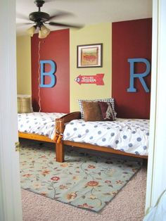 And Then There Was Home: Shared Bedroom for boys