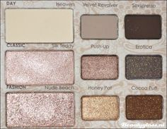 My favorite eye shadow palette to date...Too Faced Natural Eye