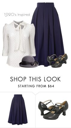 """""""Kinda - Vintage"""" by innocent-heart ❤ liked on Polyvore featuring Louche, Bloch, Gatsby, Brooks Brothers and vintage"""