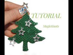 Macrame Christmas Tree ♥ DIY ♥ - YouTube