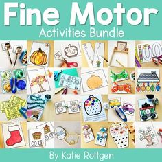 The Fine Motor Activities Bundle contains low prep activities that PreK, kindergarten, first grade, and homeschool students will love! Included are 12 themed fine motor activities. Themes include back to school, apples, leaves, pumpkin, Halloween, turkey, snow, Christmas train, Christmas, religious Christmas, New Year, and 100th Day of School. Preschoolers, kinders, and 1st graders love these hands on activities that allow them to develop their fine motor skills and have fun doing it.