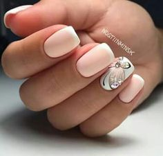 18 Pics of Cute Nail Art Designs for This Season - Nails C Pretty Nail Art, Cute Nail Art, Cute Nails, Nail Art Design 2017, Nail Art Design Gallery, Winter Nail Designs, Best Nail Art Designs, Winter Nails, Spring Nails