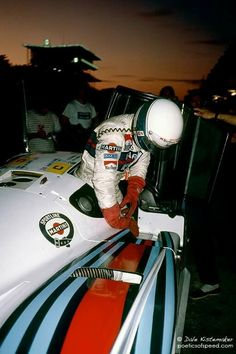 Bob Wollek Lancia LC2-84 Le Mans