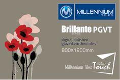 Millennium Tiles 800x1200mm (32x48) PGVT Porcelain Matt XXL Floor Tiles Series