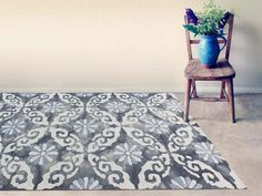 The Kanoka Collection is a group of elegant tie dyed looped pile area rugs. Hand-tufted in India of blended New Zealand virgin Wool with highlights of Art silk (Viscose). Moroccan Area Rug, Transitional Area Rugs, Contemporary Area Rugs, Contemporary Design, Hand Tufted Rugs, Online Home Decor Stores, Online Shopping, Room Rugs, Geometric Designs