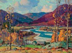 Aldro T. Hibbard - Jamaica, West River Valley,...