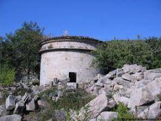 Pombal preto do mosteiro de Melón (Ourense)