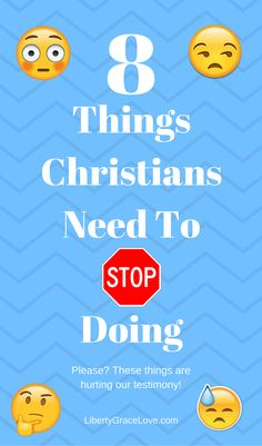 8 things Christians