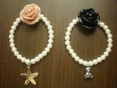 pulseras de perlas de colores de cristal - Google'da Ara