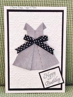 """Little black dress"" cards - J Blume Bags, Tags & More"