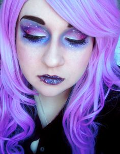 Galaxy Make-Up by xUntilTheEnd
