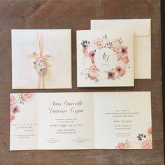 Unique Wedding Invitations, Wedding Stationery, Wedding Wishes, Wedding Cards, Sister Wedding, Wedding Day, Invitation Envelopes, Birthday Cake Girls, Girl Cakes