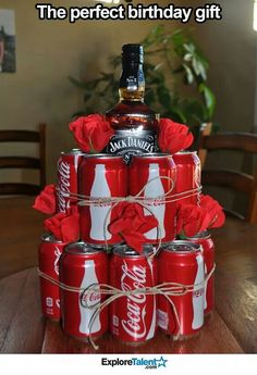 Jack Daniels present for hubby