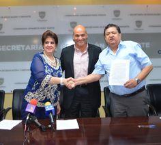 Firman acuerdo Secretaría de Educación, Cobach y Sindicato