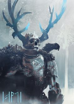 "cyrail: ""artissimo: ""frost knight 3 by geoffrey ernault D'artiste: Concept Art "" Featured on Cyrail: Inspiring artworks that make your day better "" Dark Fantasy Art, Fantasy Concept Art, Fantasy Kunst, Fantasy Character Design, Fantasy Artwork, Character Concept, Character Art, High Fantasy, Monster Design"