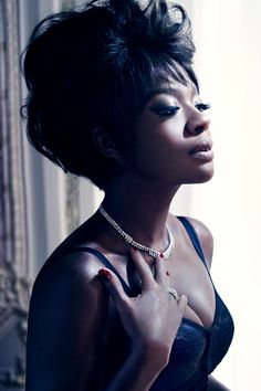 "femmequeens: "" Viola Davis photographed by Mario Sorrenti, W Magazine February 2012 """