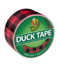 Duck Tape Br& Duct Tape 1.88 in. x 10 yd. - Buffalo Plaid