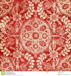 red-antique-floral-damask-background-12365759.jpg (1300×1390)