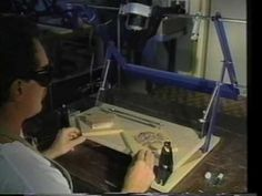 Terrco WoodCarvers - T-110 Industrial Machine, Working Area, Deco, Science And Technology, Woodworking, Youtube, Art, Projects, Firearms