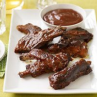 Country Style BBQ Ribs - prepared in a slow cooker