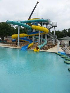 The new Aquatics center