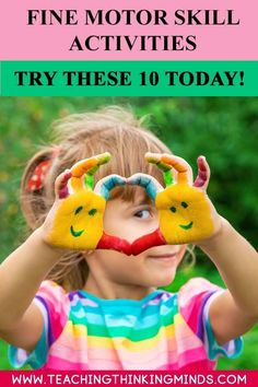 Find out what 10 amazing fine motor skills activities you can do, today to develop your child's fine motor skills, essential for daily life and writing. Motor Skills Activities, Teaching Activities, Craft Activities For Kids, Infant Activities, Fine Motor Skills, Preschool Ideas, Kids Crafts, Teaching Ideas, Breastfeeding Support