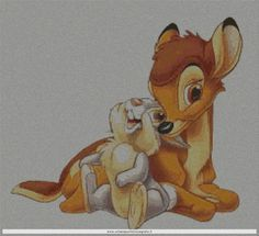 bambi02s schema punto croce gratis...click on link below picture to get pattern