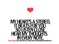 Stereo Hearts - Gym Class Heroes feat Adam Levine
