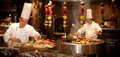 Saffron Restaurant at Atlantis The Palm, Dubai