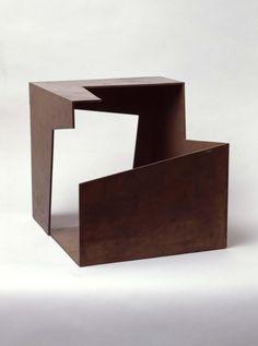 Jorge de Oteiza Caja Vacia 1958 iron and copper x x cm Even more than by other pain. Abstract Sculpture, Sculpture Art, Modern Art, Contemporary Art, Art Cube, Pavillion, Cement Art, Corten Steel, Action Painting