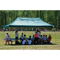 ShelterLogic Pro Series 10' x 20' Canopy At Sporting Events