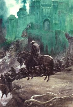 The Witch King by Alan Lee